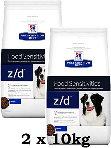 Hill´s Prescription Diet Canine z/d Ultra Allergen Free 2 x 10 kg = 20kg