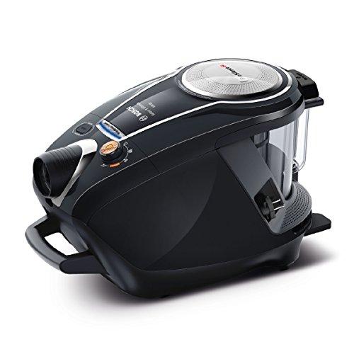 Bosch Staubsauger beutellos ProSilence Serie 8 BGS7MS64, Bodenstaubsauger, leise, Hygiene-Filter, Bodendüse für Parkett, Teppich, Fliesen, starke Saugleistung, langes Kabel, 800 W, schwarz