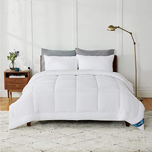 BEDSURE Ganzjahresdecke Bettdecke 200x200 cm 300GSM, Oeko-Test Zertifiziert für Allergiker geeignet, Super Weiche Atmungsaktive Steppdecke Schlafdecke