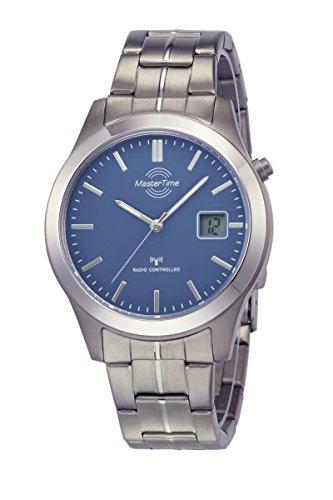 Master Time Funk Quarz Herren Uhr Analog-Digital mit Titan Armband MTGT-10351-31M