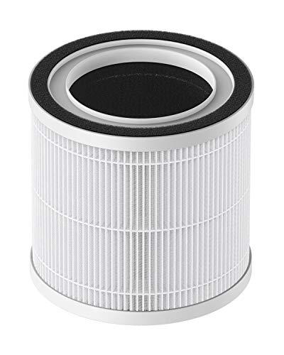 TCL BREEVA A1 Ersatzfilter für Luftreiniger, echter HEPA H13- und Aktivkohlefilter, reicht für 90 Tage oder 3 Monate, entspricht 2.160 Stunden, BREEVA A1F, 1 Packung, weiß