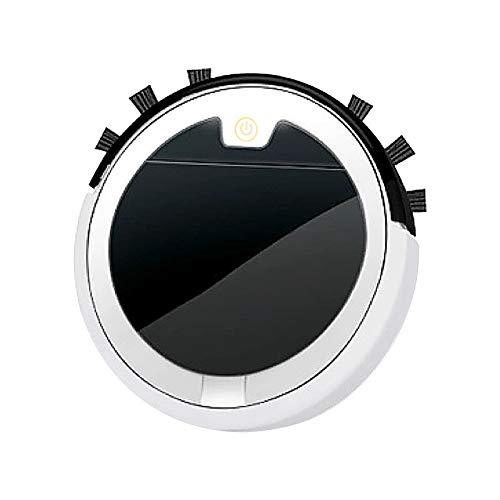 MAZHANG Roboterstaubsauger 2500PA Saugroboter mit Wischfunktion App-Steuerung, Dünner & Leiser Roboter-Staubsauger (Weiß)
