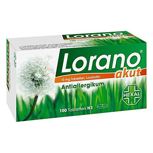 Lorano akut Tabletten, 100 St