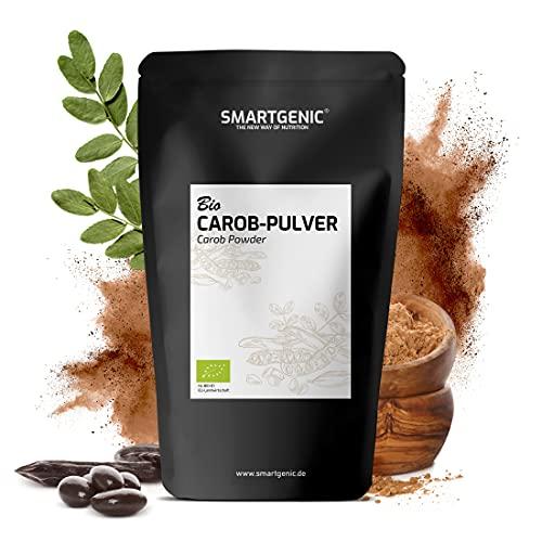 NEU! Carobpulver BIO - Johannisbrot gemahlen - fettarmer Kakao-Ersatz & kalorienarme Alternative zu Schokolade | geprüfte BIO Qualität