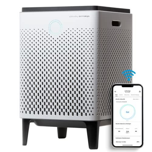 Coway Airmega 300S Luftreiniger mit WiFi, funktioniert mit Dash Replenishment, weiß, Kunststoff, One size