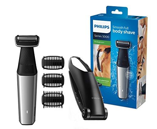 Philips Bodygroom Series 5000 mit Aufsatz für Rückenhaarentfernung BG5020/15 (inkl. 3 Kammaufsätze)
