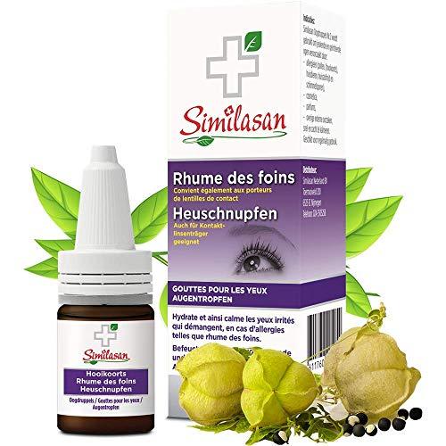 Similasan Augentropfen für Heuschnupfen 10 ml - Für gereizte, juckende und allergisch reagierende Augen