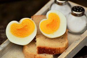 Salzallergie, Eier mit Salz
